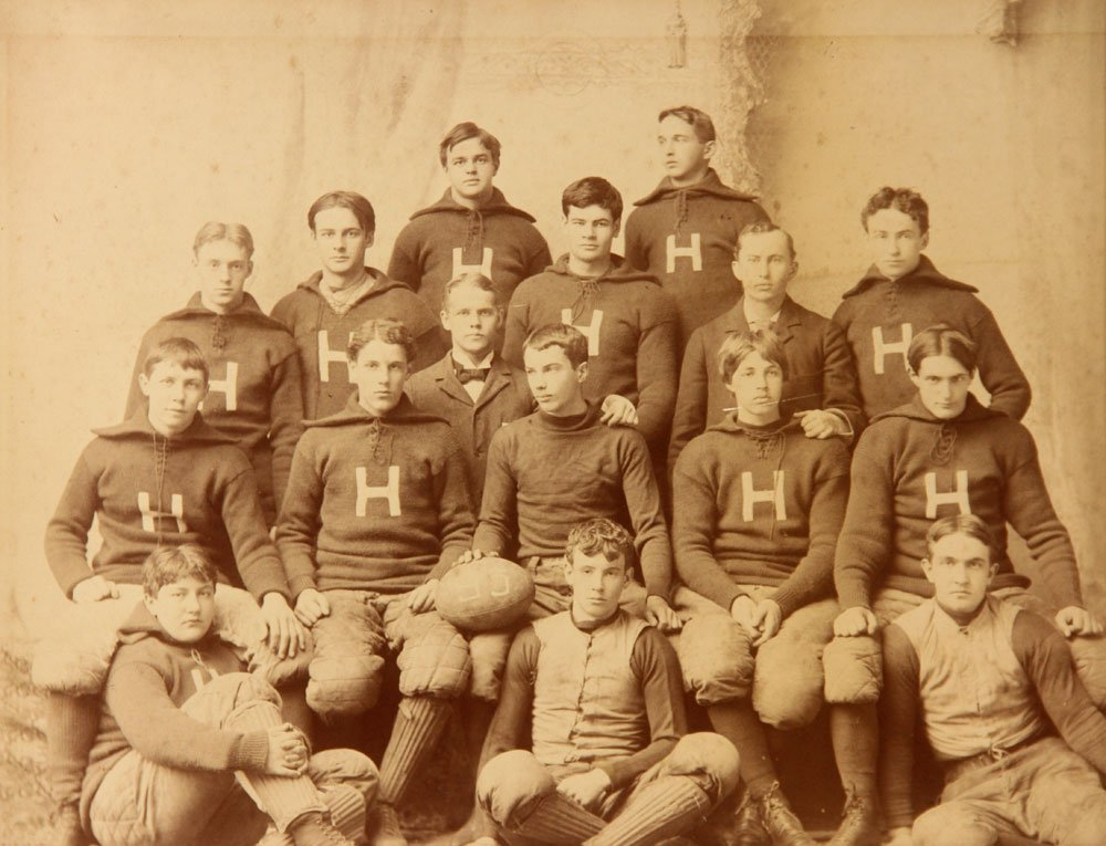 Three Albumen Photographs of Harvard Football Teams - 5