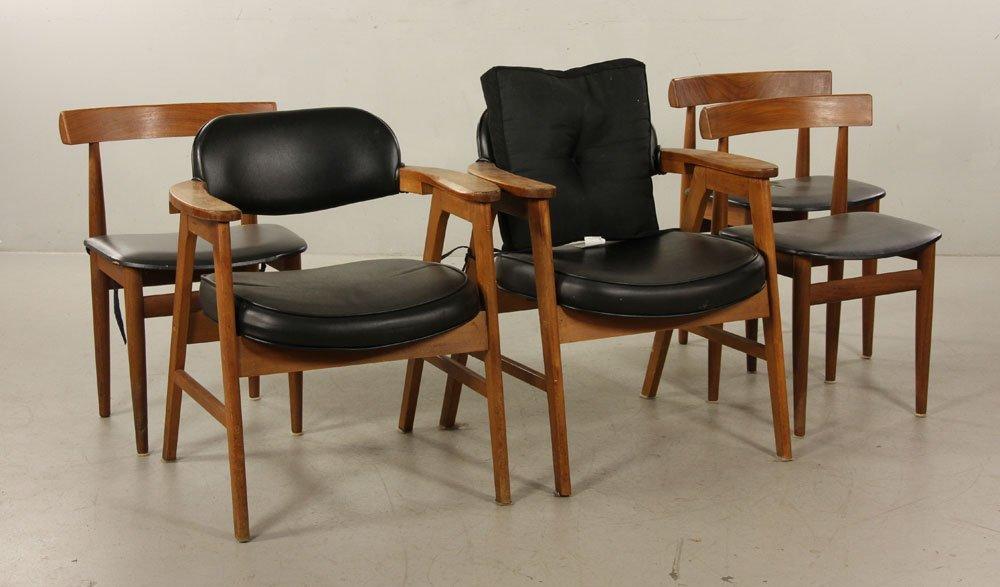 5 Mid Century Modern Danish and American Chairs