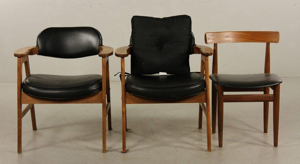 5 Mid Century Modern Danish and American Chairs - 2