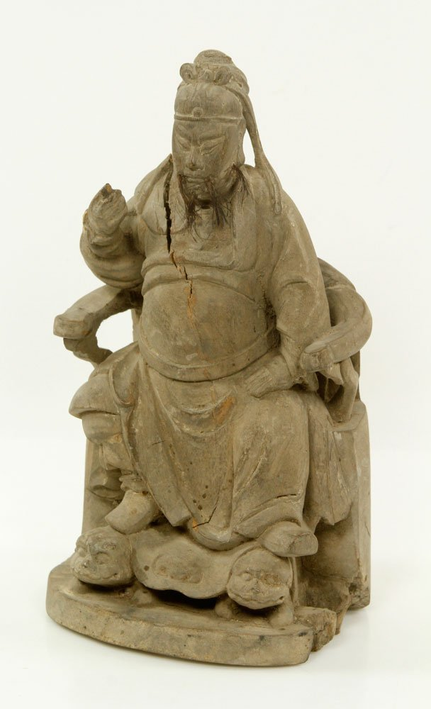18th/19th C. Chinese Figure of Guan Yu