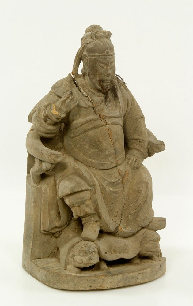 18th/19th C. Chinese Figure of Guan Yu - 2