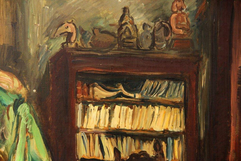 Friesz, Interior Scene, Oil on Canvas - 5