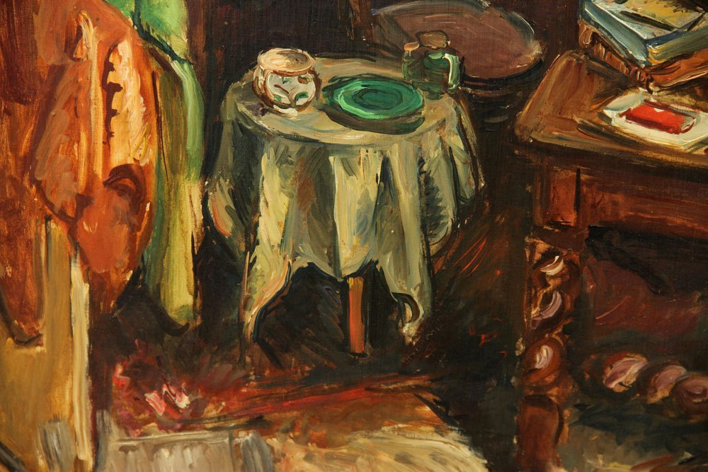 Friesz, Interior Scene, Oil on Canvas - 6