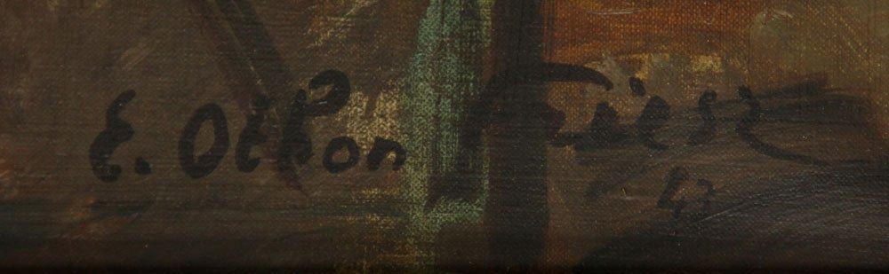 Friesz, Interior Scene, Oil on Canvas - 7