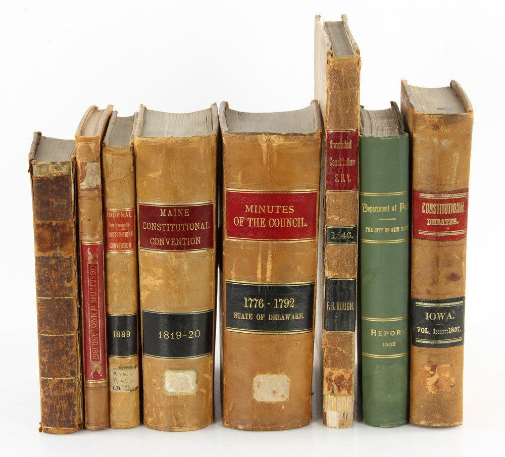 27 Books on Law and Government - 2