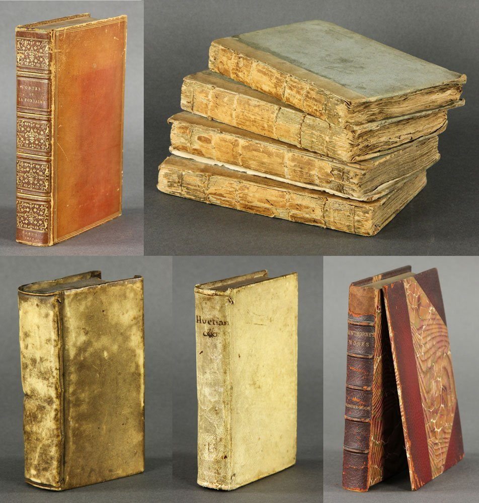 8 Rare Books
