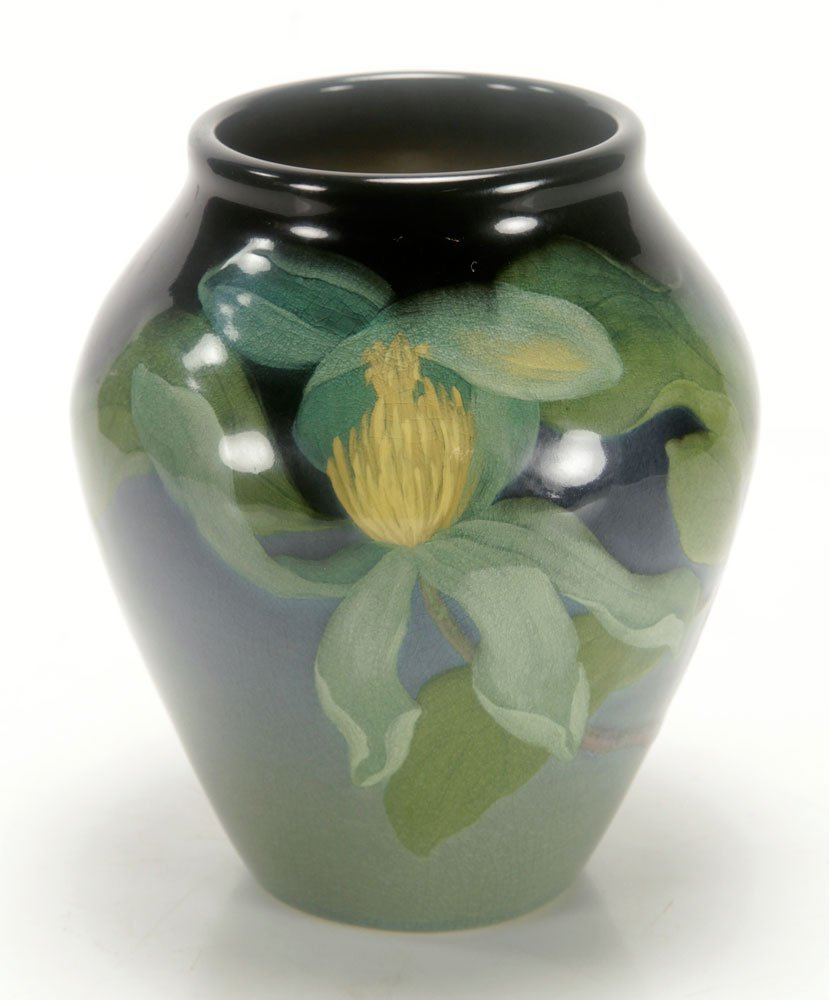 Sara Sax, Rookwood Iris Glaze Vase