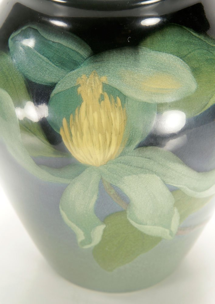 Sara Sax, Rookwood Iris Glaze Vase - 4