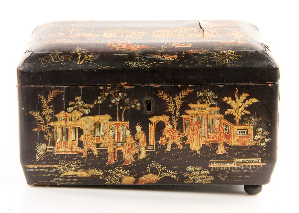 Two Chinese Decorated Wood Boxes - 5