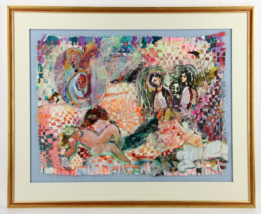 Dazzio, Watercolor and Mixed Media