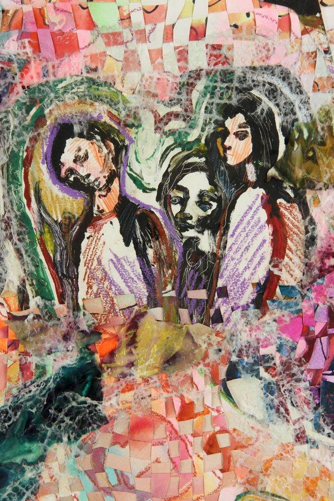 Dazzio, Watercolor and Mixed Media - 3