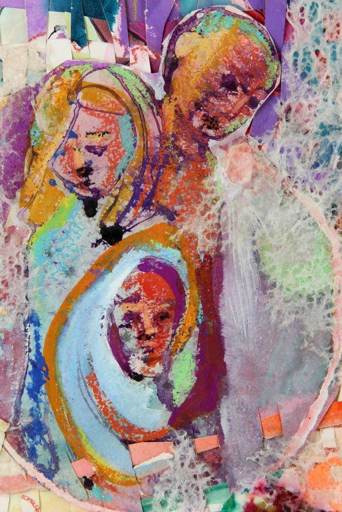Dazzio, Watercolor and Mixed Media - 4