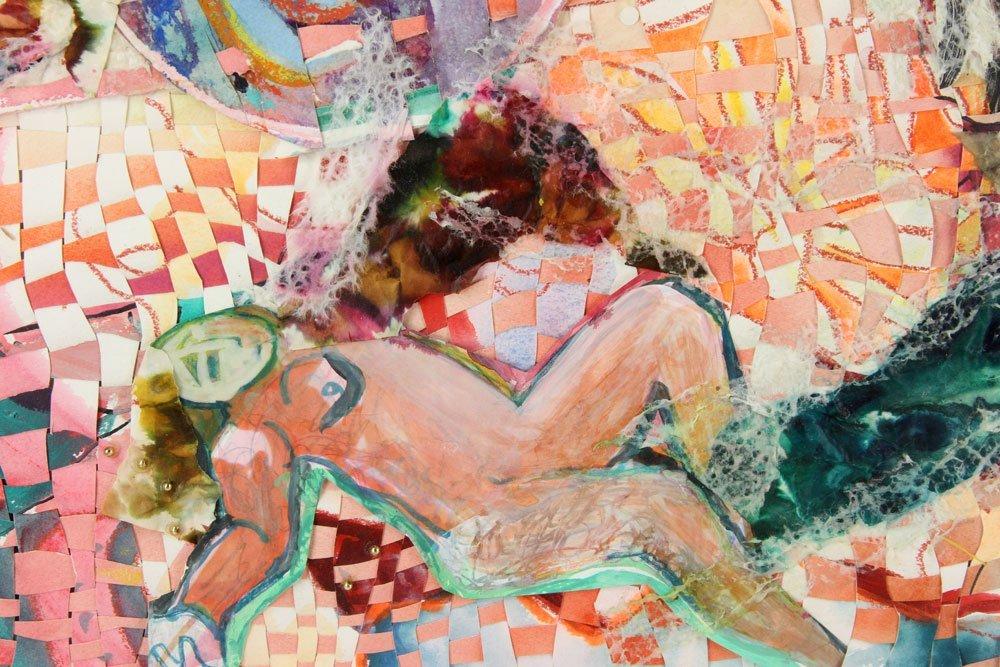Dazzio, Watercolor and Mixed Media - 5