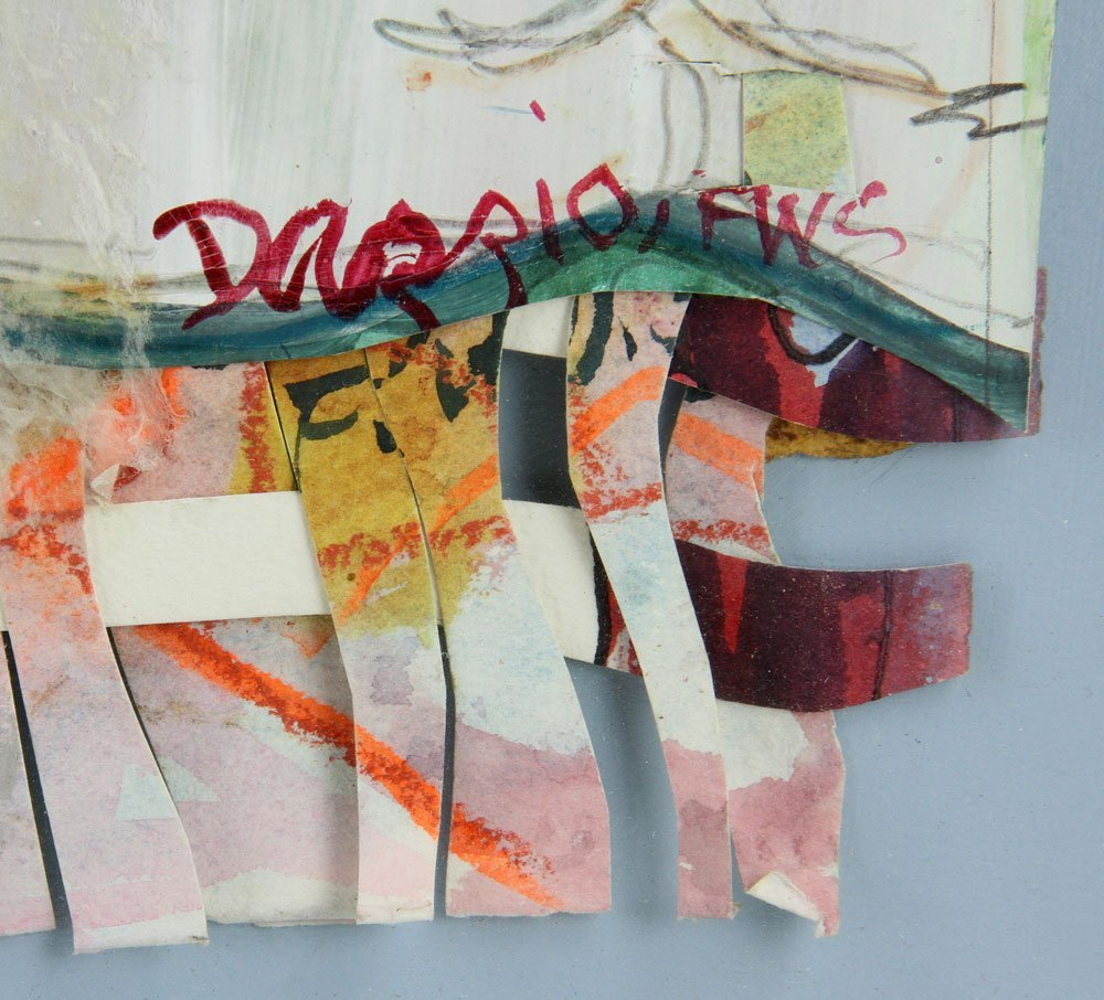 Dazzio, Watercolor and Mixed Media - 6