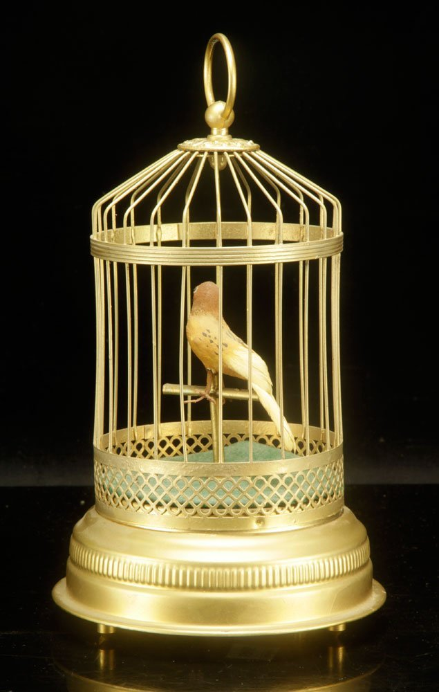 French Musical Bird Cage - 2