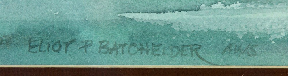 Batchelder, Four Watercolors - 10