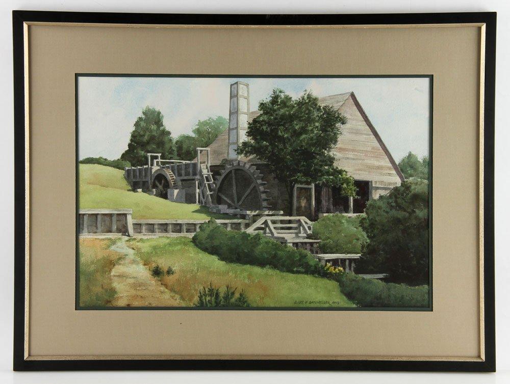 Batchelder, Four Watercolors - 2