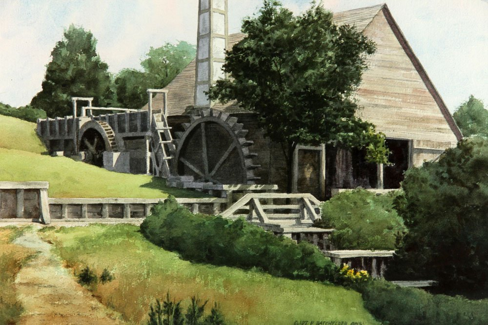Batchelder, Four Watercolors - 3