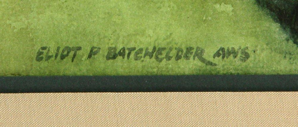 Batchelder, Four Watercolors - 4