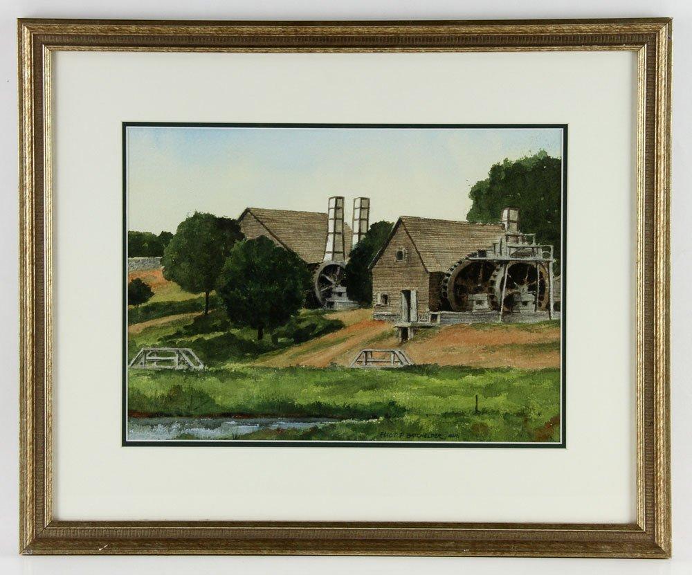 Batchelder, Four Watercolors - 5