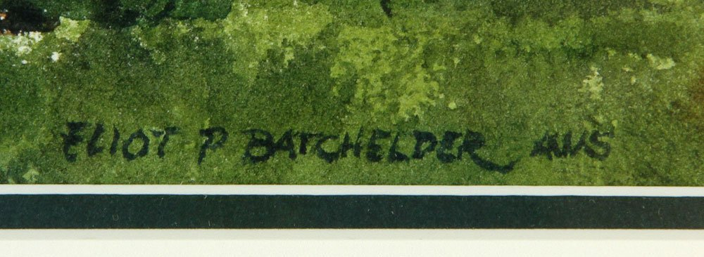 Batchelder, Four Watercolors - 7