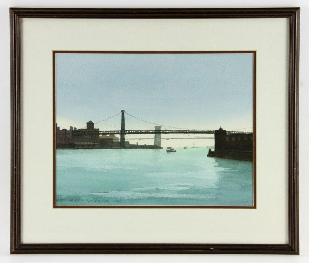 Batchelder, Four Watercolors - 8