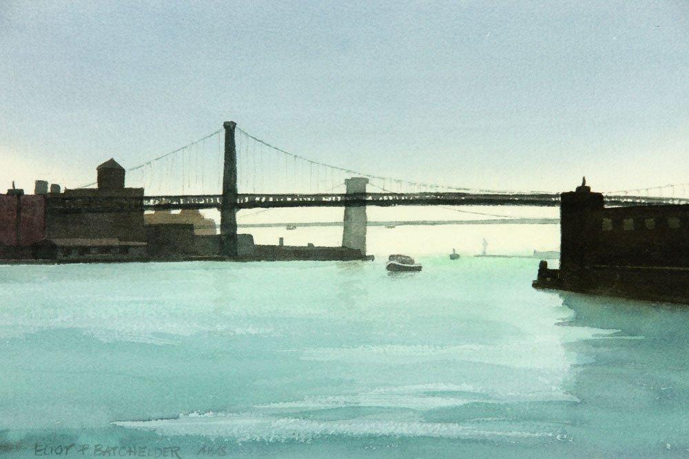 Batchelder, Four Watercolors - 9