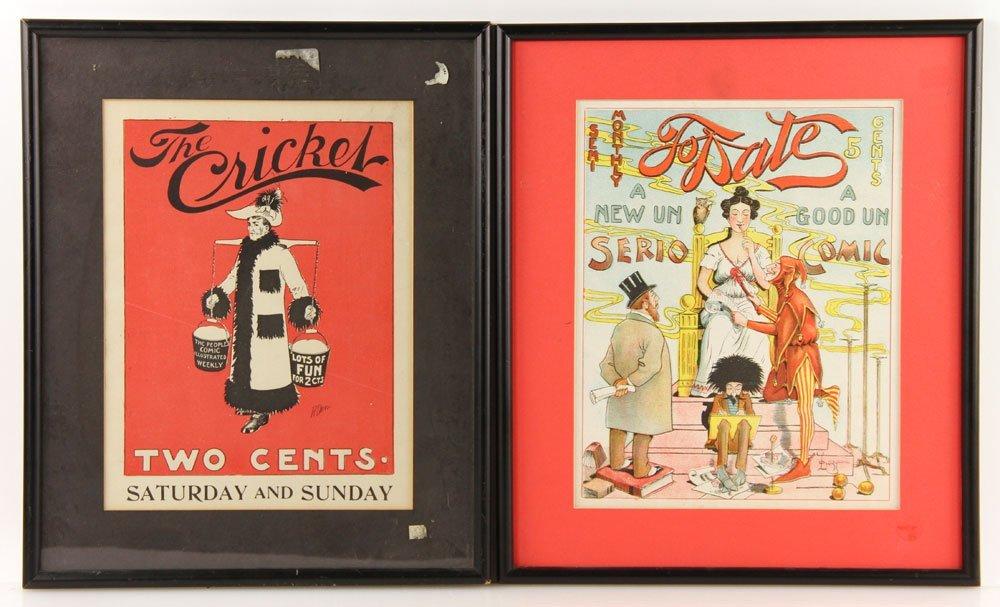 Five Assorted Prints - 5