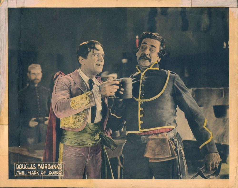 The Mask of Zorro Lobby Cards, Circa 1920 - 6