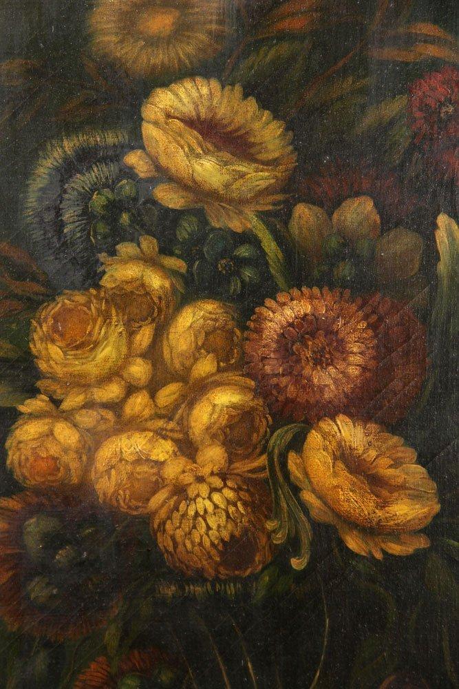 Floral Still Life, Oil on Canvas - 3