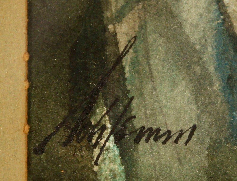 Schlemm, Trombonists, Watercolor - 3
