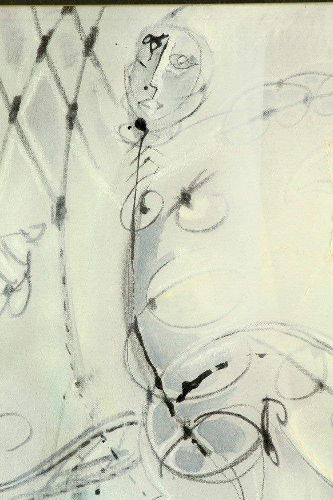 Rane, Abstract Figure, Oil on Canvas - 3