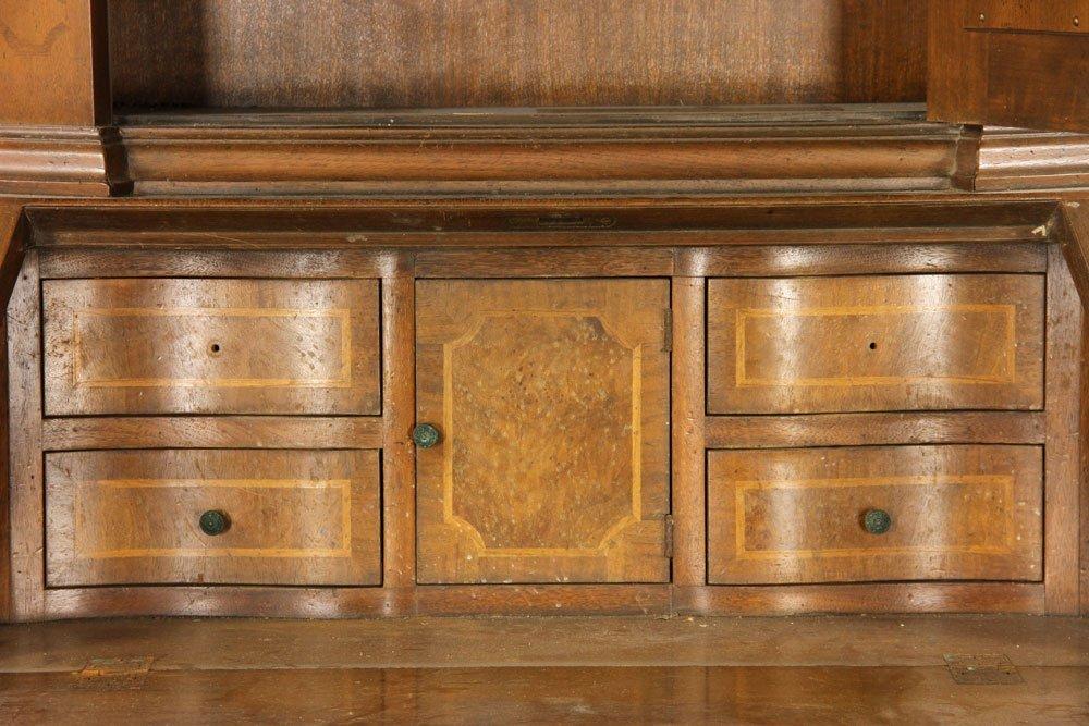 Inlaid Baker Secretary Desk - 3