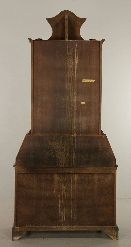 Inlaid Baker Secretary Desk - 4