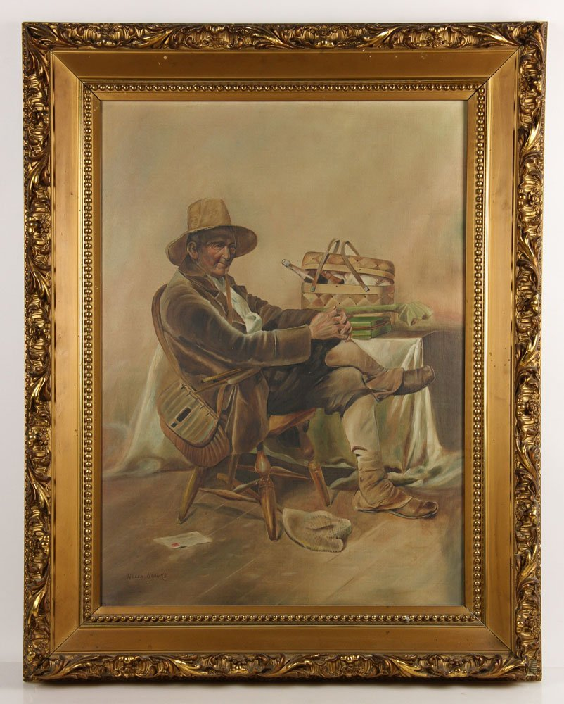 Brooks, New England Fisherman, Oil on Canvas