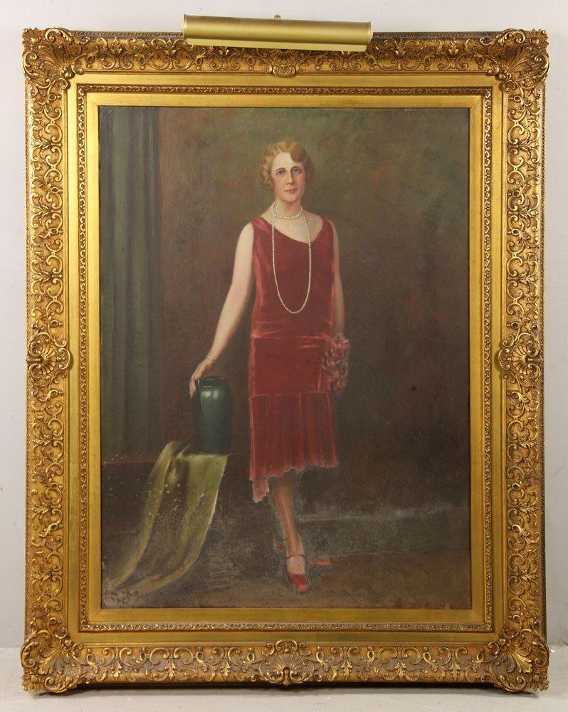 Attr. Christy, Portrait, Oil on Canvas