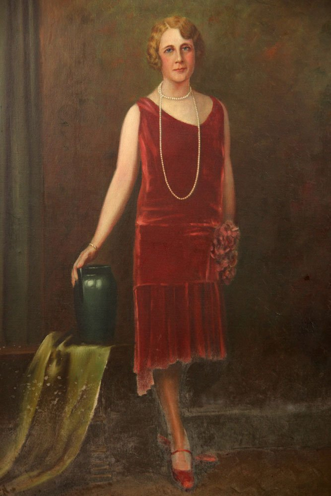 Attr. Christy, Portrait, Oil on Canvas - 2