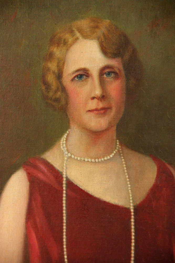 Attr. Christy, Portrait, Oil on Canvas - 3
