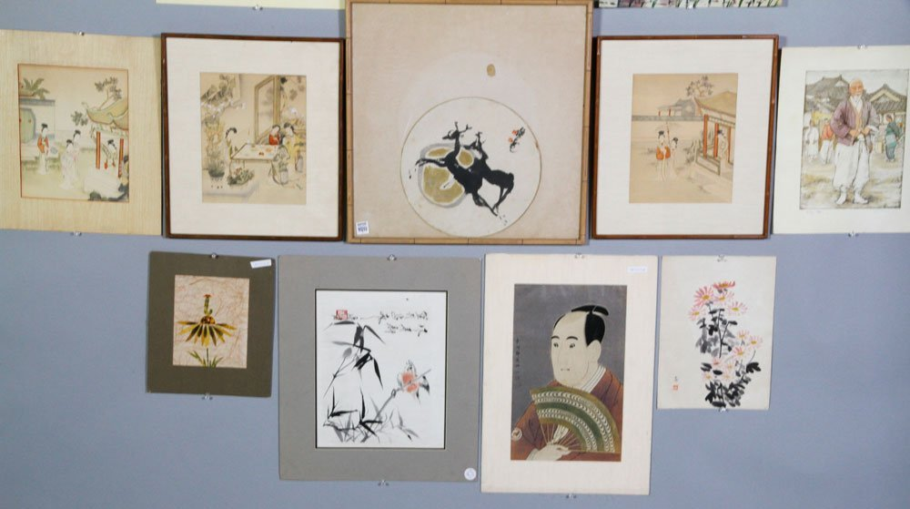 12 Chinese and Japanese Prints - 3
