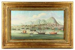 Chinese Export Oil Painting