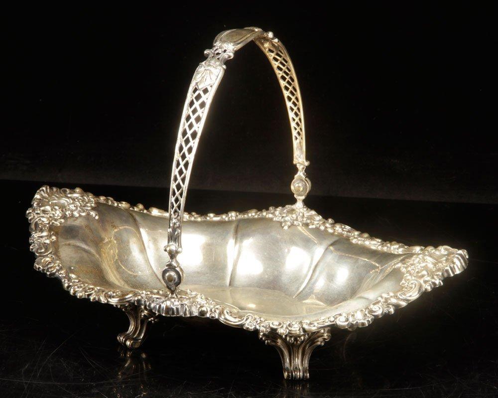 Gorham Sterling Bride's Basket - 2