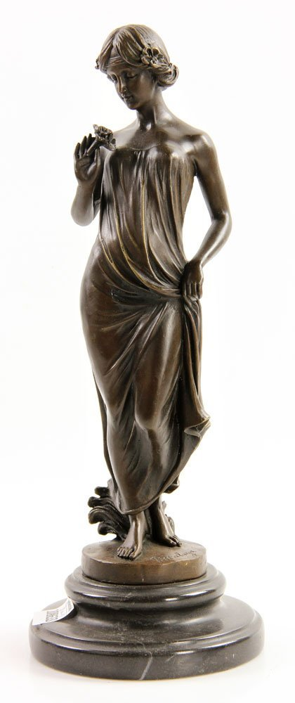 Pittaluga (Italian, 20th C.), Classical Lady, Bronze