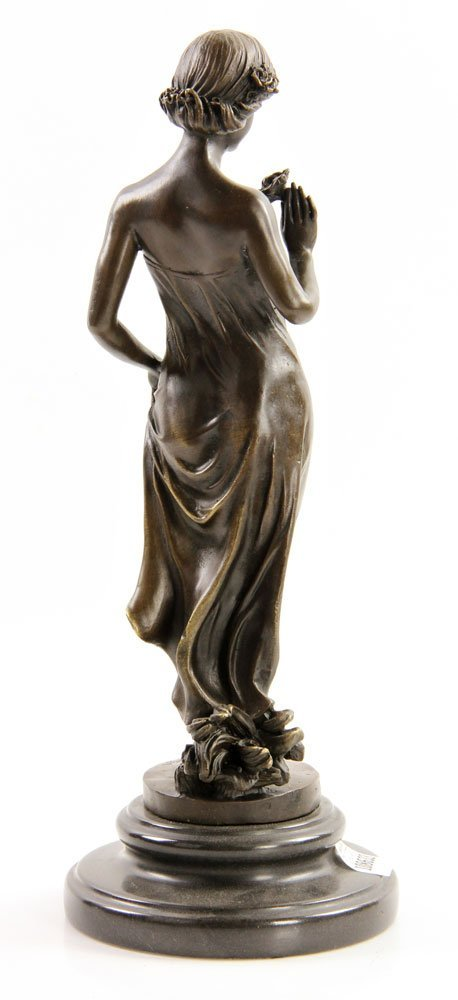 Pittaluga (Italian, 20th C.), Classical Lady, Bronze - 2
