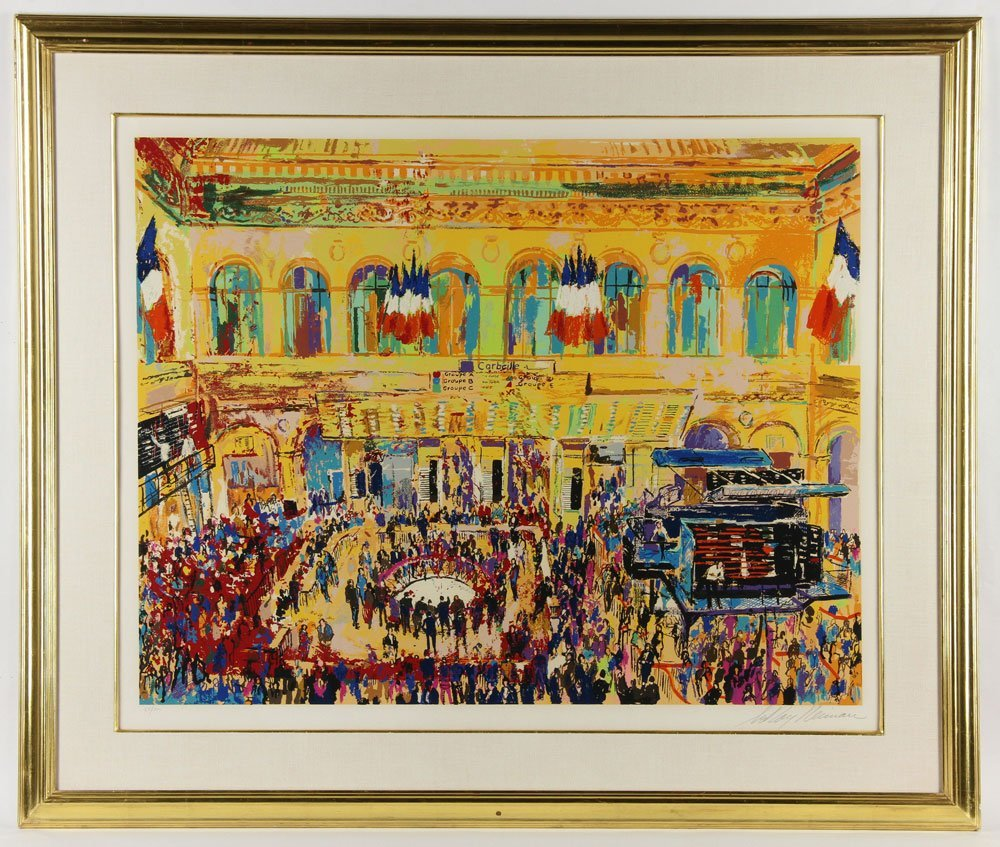 Neiman, French Stock Exchange, Serigraph