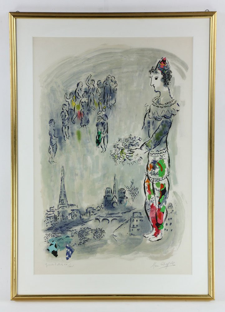 "Chagall, ""Magician of Paris,"" Artist Proof"
