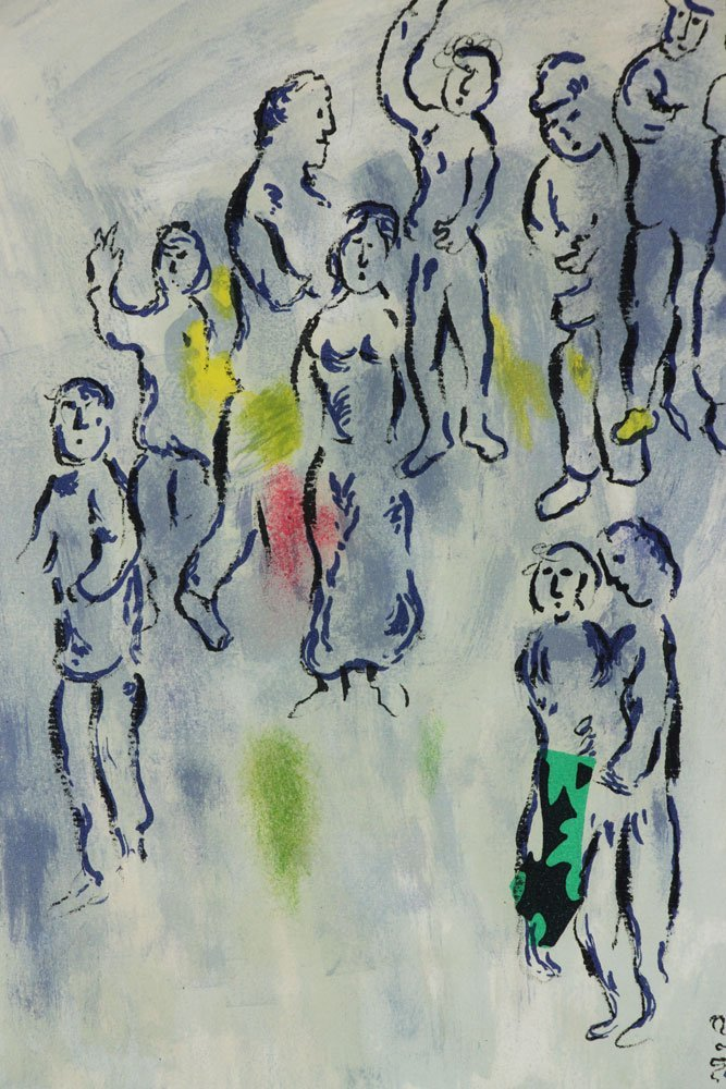 "Chagall, ""Magician of Paris,"" Artist Proof - 3"
