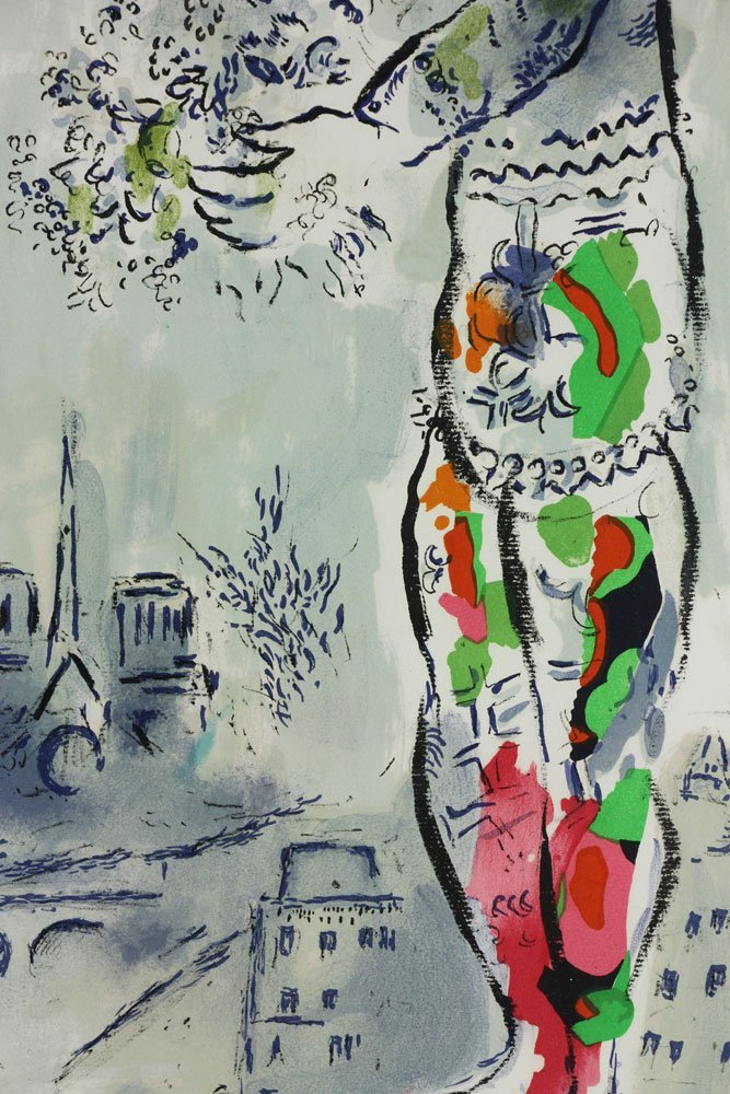 "Chagall, ""Magician of Paris,"" Artist Proof - 5"