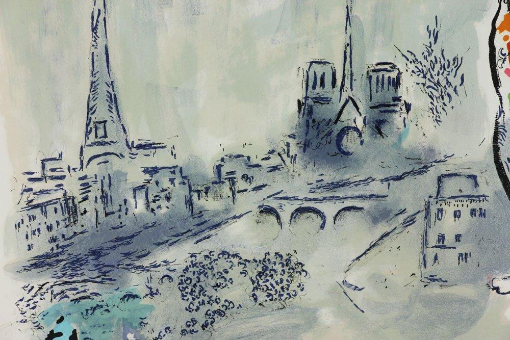 "Chagall, ""Magician of Paris,"" Artist Proof - 6"