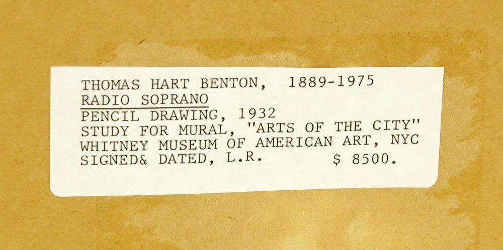 """Attr. Benton, """"Radio Soprano,"""" Pencil - 3"""