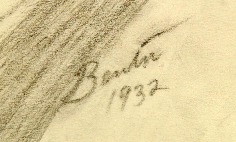 """Attr. Benton, """"Radio Soprano,"""" Pencil - 5"""